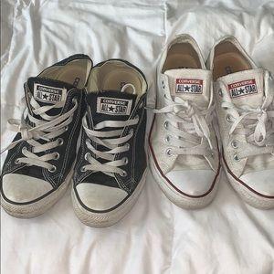 Bundle of 2 short converse sneakers
